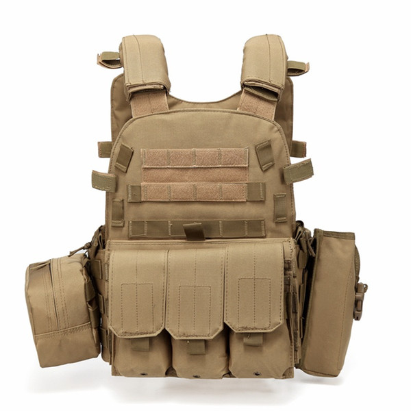 Caccia Tactical Accessoris Body Armor JPC Plate Carrier Vest Munizioni Magazine Chest Rig Paintball Gear Caricamento Orsi gilet