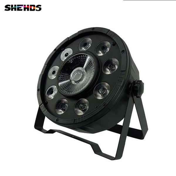 Fast Shipping LED Flat Par 9x10WD+30W RGB Lighting for Disco KTV Party RGB 3IN1 LED Light SHEHDS Stage Lighting