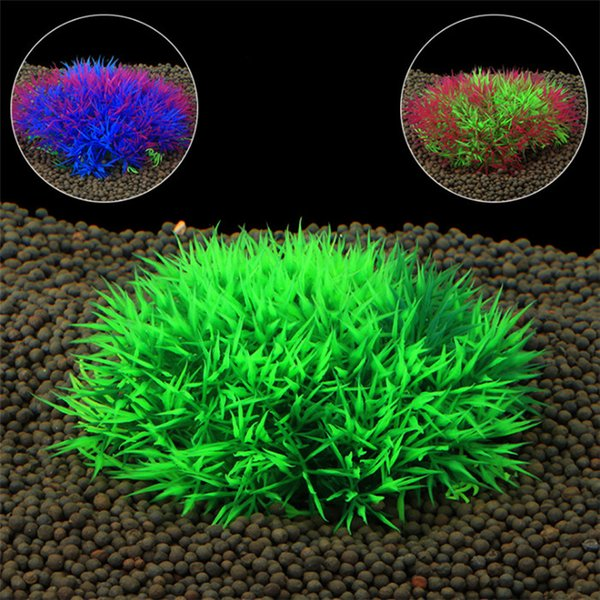Aquarium de simulation écologique en plastique Vert Faux plantes aquatiques Aquarium pour aquariums Plantes accessoires pour aquariums