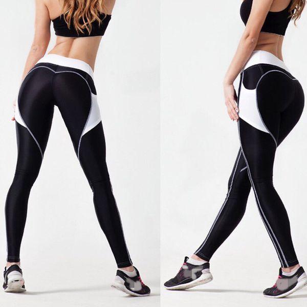 Fitness Women Yoga Pants New Print Tight Yoga Leggings Athleisure Sportswear Running Sports Trouser Plus Sizes