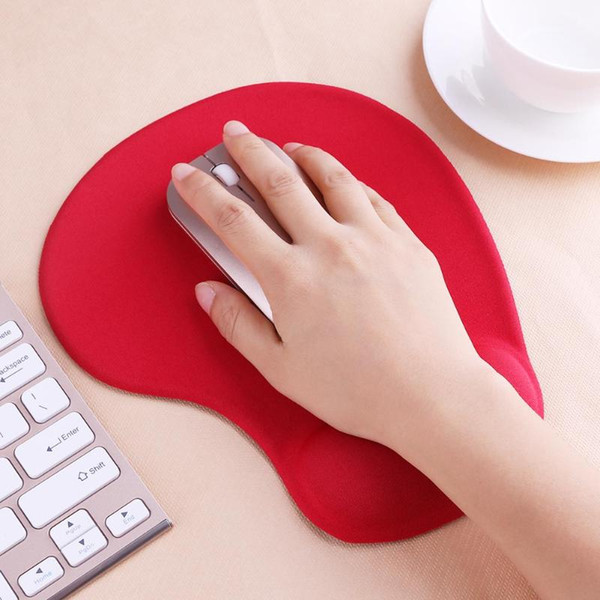 top popular Mouse Pad 3D With Wrist Rest Support Protect Gaming Mouse Pads Silicone Gel Hand PU Anti-slip Hand Pillow Memory Cotton Pads Mat retail box 2021