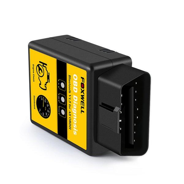 ELM 327 V1.5 Bluetooth adapter Works On Android Elm327 Bluetooth V1.5 V 1.5 OBD2 Code Reader OBD II Auto Car Diagnostic-Scanner