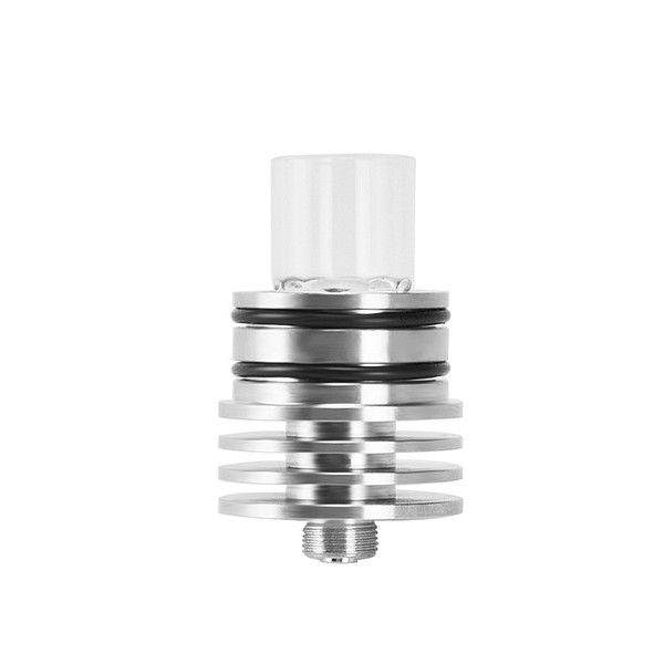 Motar Quartz Wax Vaporizer Wickless Atomizer Coil-less Tank Glass Pipe With 510 Thread Kit Rigs Dabber Tool Long Mouthpiece Cap DHL