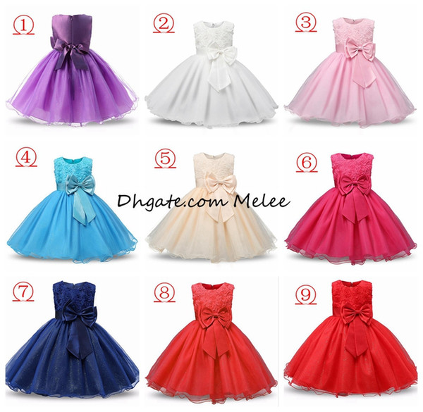 top popular 2-12Y INS Girls Flower Sequins Princess Dresses Toddler Girls Summer Halloween Party Girl tutu Dress Kids Dresses for Girls Clothes Wedding 2020