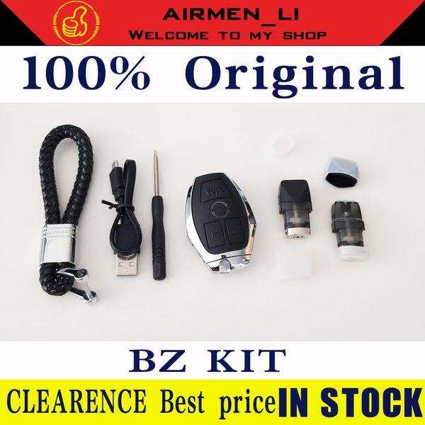 Mod de batterie intégré de 500mah de style de clé de voiture de KIT d'origine de 100% avec le kit de mod de cartouches de BZ de cartouches de 1.8ml