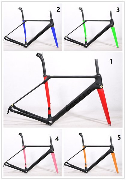 COSTELO carbon road bike frame,fork headset clamp, seatpost Carbon Road bicycle Frame 880g SLX free shipping