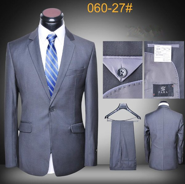 Daily Suits for Men latest coat and pants brand designer suits pictures slim fit high quality uniform