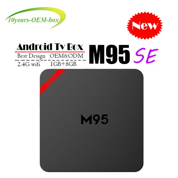 2018 Cheapest M95 SE Allwinner H3 Quad Core 1GB DDR3 8GB EMMC Smart Android TV BOX 2.4G WIFI 4K*2K Android 7.1 Media Player TX3 MINI