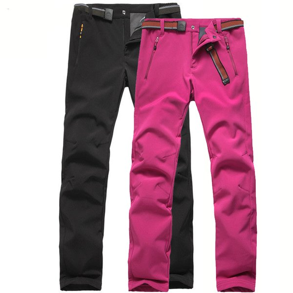 Cargo Pants Men Joggers Sweatpants Softshell Trousers Men Waterproof Track Pants Warm Fleece Tactical Pantalon Hombre