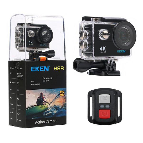 الأصلي eken h9 / H9R عمل الكاميرا الترا hd 4 كيلو / 25 fps wifi 2.0