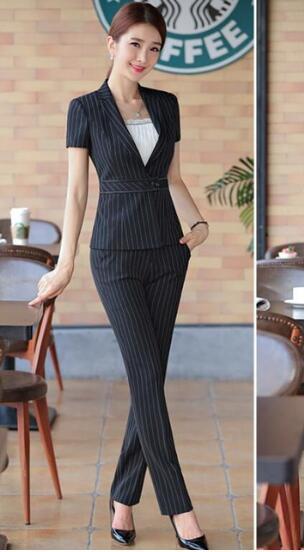 Pantalon Stripe Set