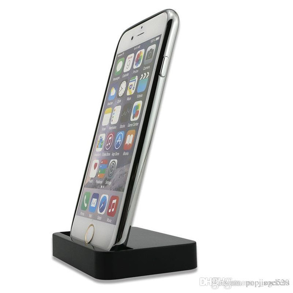 Desktop Charging Dock Data Sync docking Station Stand Holder Mount Charger Cradle For iPhone 7 8 for samsung Galaxy S7 S8