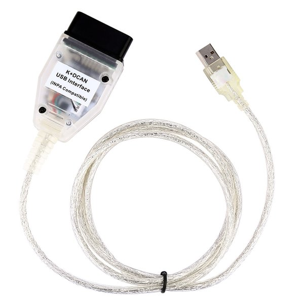 LONGFENG LF45 INPA K + DCAN Outil de diagnostic de voiture OBD Câble USB Interface pour BMW