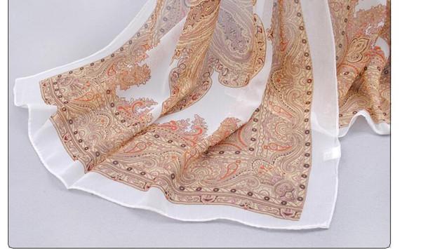 fashion pashmina women scarf 2017 new design floral shawl cape silk chiffon polyester tippet muffler hot sale ScarvesZI-239