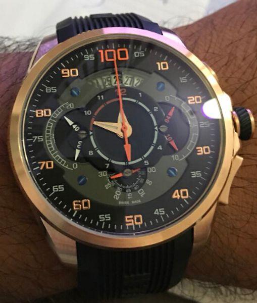 SLS Mercedes reloj de pulsera hombre 2018 Nueva Marca