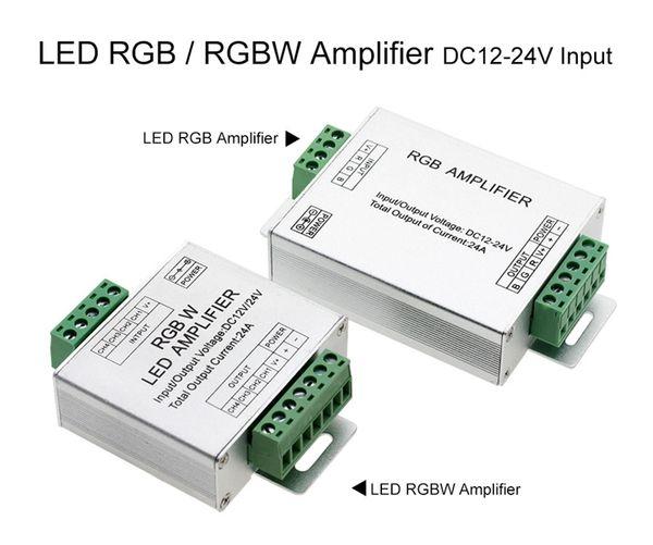 LED RGB Controller Verstärker LED Amplifier 12V 24V