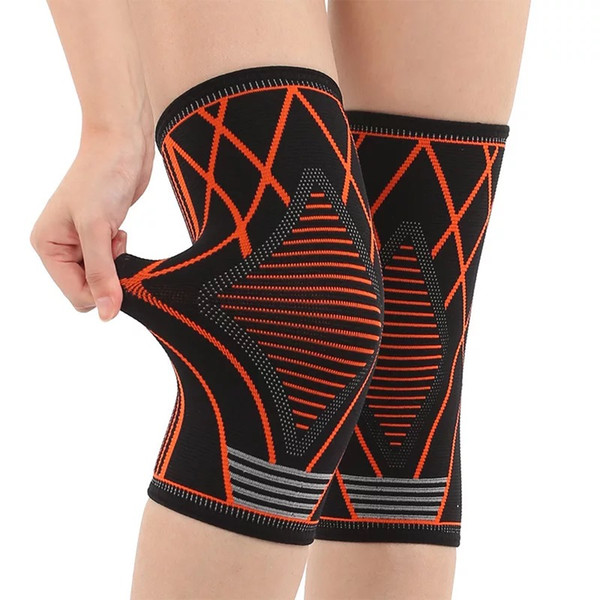 1 Pcs Knee Support Elastic Nylon Sport Compression Pads Sleeve for Basketball Knee Brace Knee Support for Running