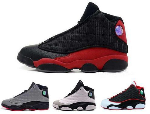 2019 Cheap New 13 Mens Basketball Shoes Outdoor Authentic Sneakers running shoes for men White 13s XIII Sports US 8-13