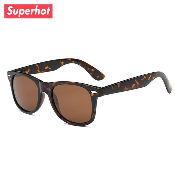 polarized sunglasses men women sun glasses fashion tortoises eyewear cat. 3 uv400 protection custom logo, White;black