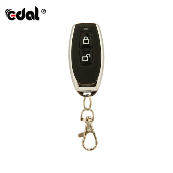 EDAL 433Mhz RF Remote Control Learning Code EV1527 HCS301 For Gate Garage Door Controller Alarm Receiver Universal Remotes