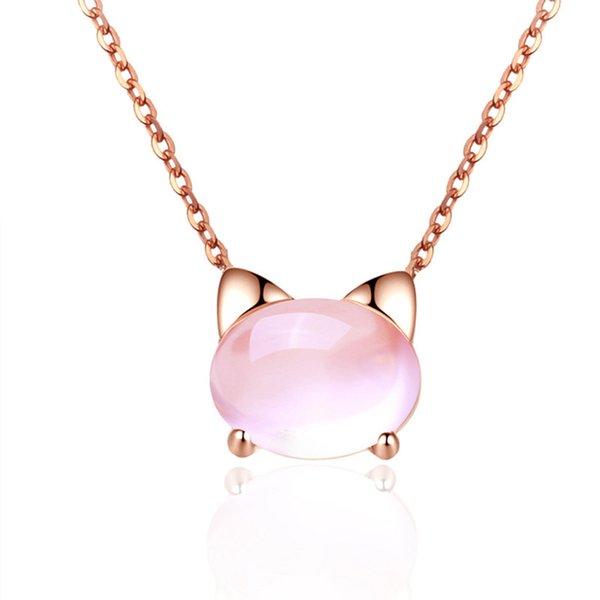 ouro rosa com corrente