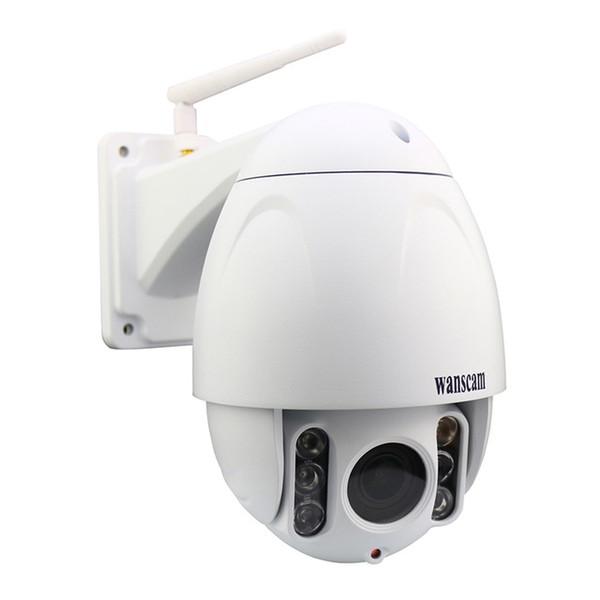 WANSCAM HW0045 Waterproof IP66 Outdoor 2MP HD1080P X5 Optical Zoom Wifi Security IP PTZ Camera IR-Cut Plug Play Recording Webcam