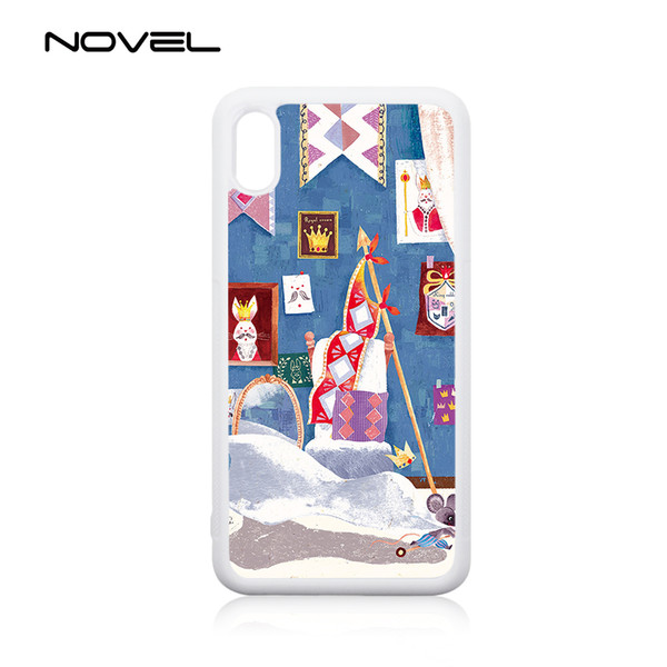 Hot selling! 2D TPU sublimation phone case housing for iPhone XR