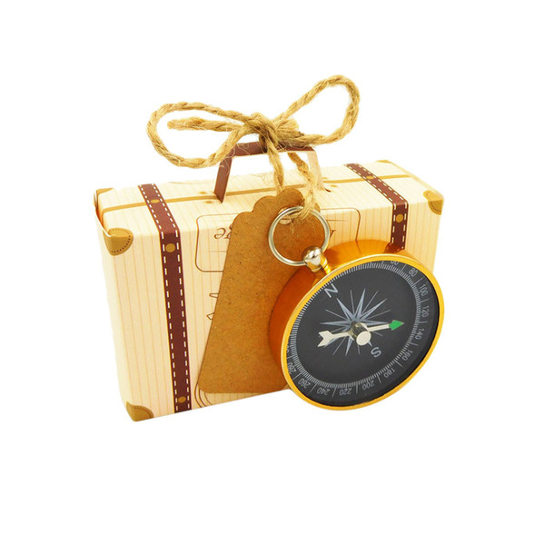 c671b552370f Kraft Diy Vintage Travel Candy Box With Globe And Compass Chocolate  Packaging Gift Box And Gifts Bag Party Wedding Favors Cheap Gift Wrapping  Supplies ...