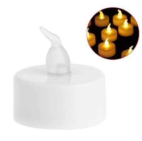 New 6Pcs Flameless LED Tealight Candle Flickering Tealight Night Light Home Decor