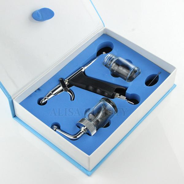 Пушка впрыски брызга кислорода пушки брызга брызга с запасным вспомогательным оборудованием бутылки для машины двигателя кислорода воды лицевой