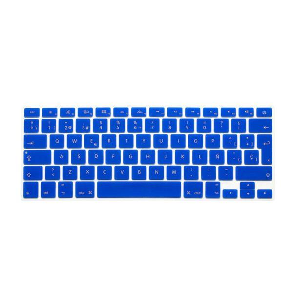 2016 ESP Spanish Keyboard Skin Cover For Macbook Mac Book 13 15 EU UK Europe Version Silicone Laptop Keyoboard Protector Film