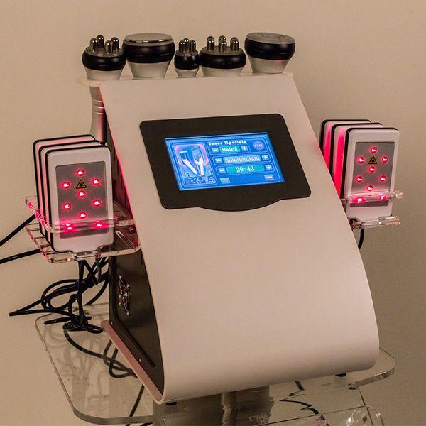 Factory price Lipo Laser Slimming Machine 40K Ultrasonic Liposuction Cavitation Fat Burning RF Face Skin Care Body Vacuum Beauty Weight Loss
