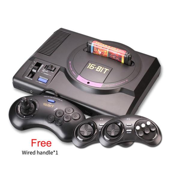 Hot HDMI e sistema AV Console di gioco controller wireless Console per videogiochi sega mega drive game consol Genesis con controller wireless 2.4G