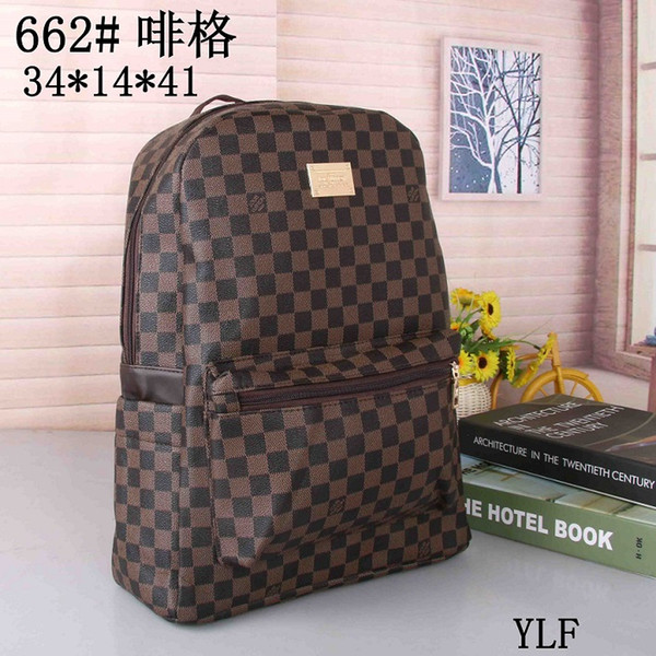 2019 Newest Classic Fashion bags brand designer Women Men Backpack Style Bag Unisex Shoulder Handbags Travel hiking bag (38 colors for pick)