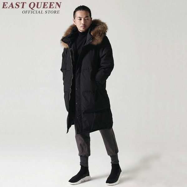 Traditional chinese clothing for men mens winter parkas jacket for men winter warm jacket AA3069 Y