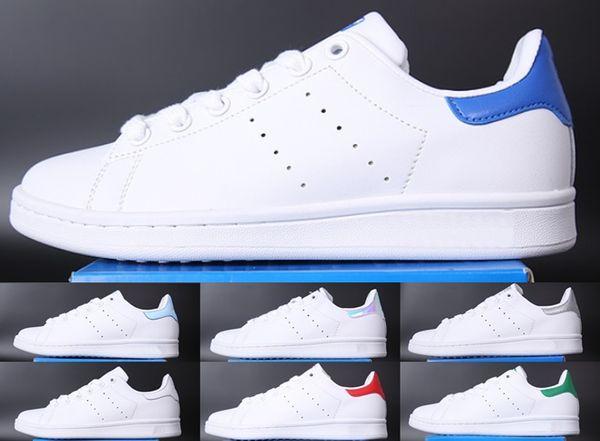 77f4ab1275 Adidas Stan smith 2018 HOT NEW mens smith Sapatos Casuais Superstar Feminino  Sapatos Rasos Mulheres Zapatillas