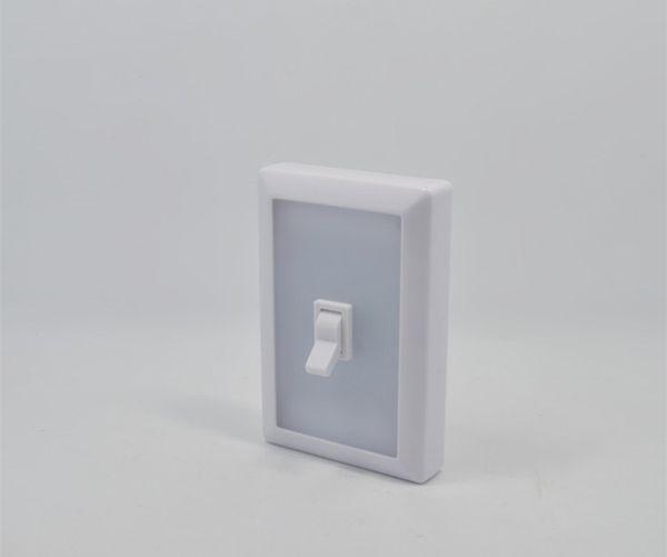 Square LED Wall Lighting Switch Night Light Emergency Lighting Wardrobe Light Multifunctional Corridor Wall Light