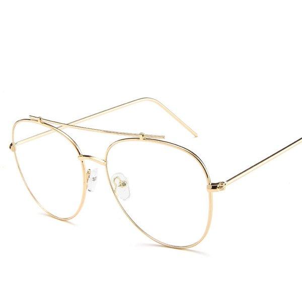 Occhiali da vista Occhiali da vista Metallo Miopia Occhiali da vista Donna Uomo Montature per occhiali Occhiali da vista Montatura trasparente