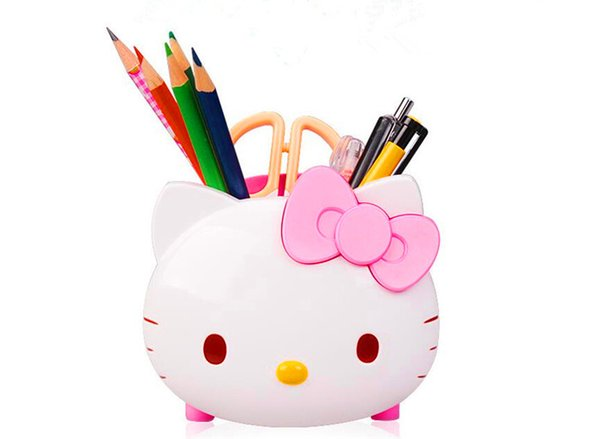 Free shipping 14*12*11(mm) Creative Children and girls students pencil storage pen Learn gift cartoon pen
