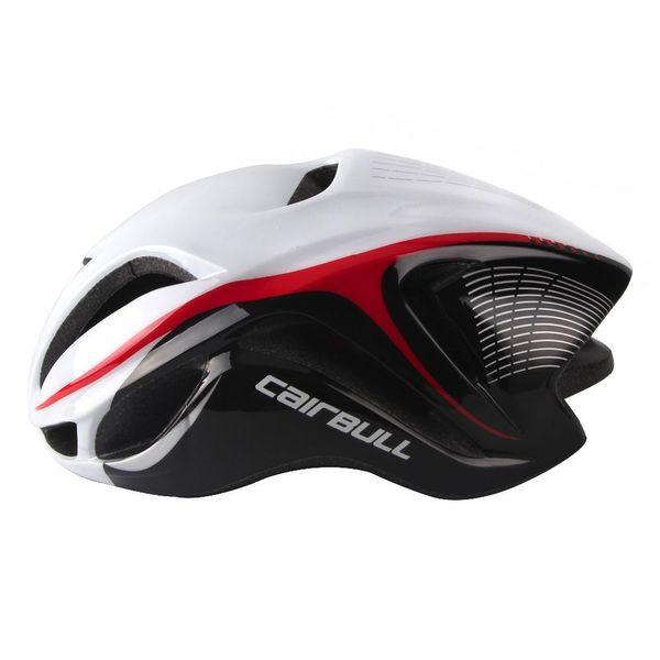 Casco da bicicletta Ciclismo Tappo di sicurezza Bici da strada Ridurre la resistenza al vento 17 Fori di ventilazione eps Integra in modo integrale il casco 4d