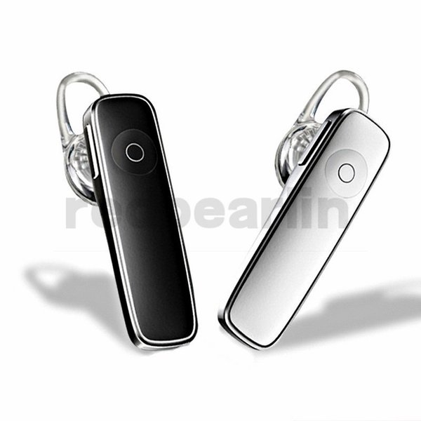 M165 Bluetooth 4.0 Headset Wireless Earphones Hands-free Earbuds Sports Calls Music Earpieces for iphone 6 7 8 x samsung htc android phone