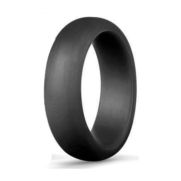 Free DHL Popular O-ring 5.7 Mm Solid Color Silicone Ring Simple Ring Wedding Bands Fashion Sports Rings Couples Ring Women's Jewelry H500F