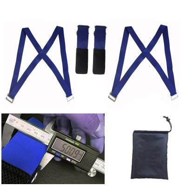 Blue Moving Straps