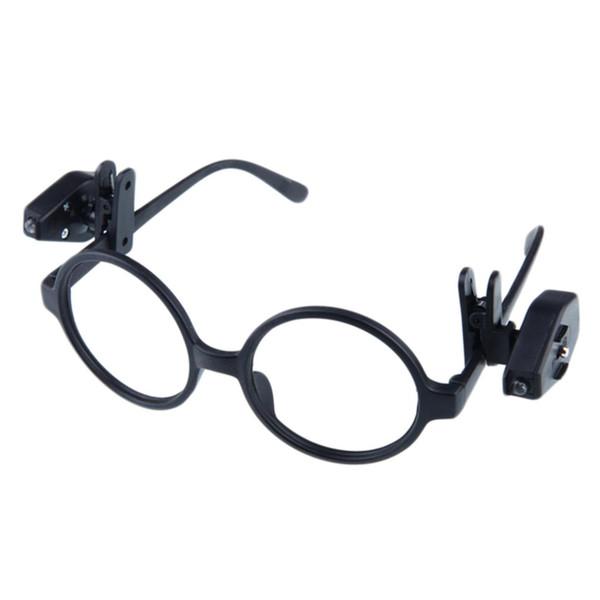 Ayarlanabilir Gece Işık Mini Evrensel Esnek LED Gözlük Klip Kitap Okuma Işıkları Için Gözlük ve Araçları Taşınabilir