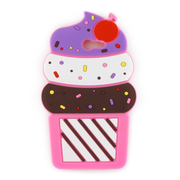 Fashion Phone Case for Galaxy J5 J7 Prime Silicone Bumper Case Bat King Cute 3D Cherry Ice Cream Soft Silicon Gel Rubber Case Cover