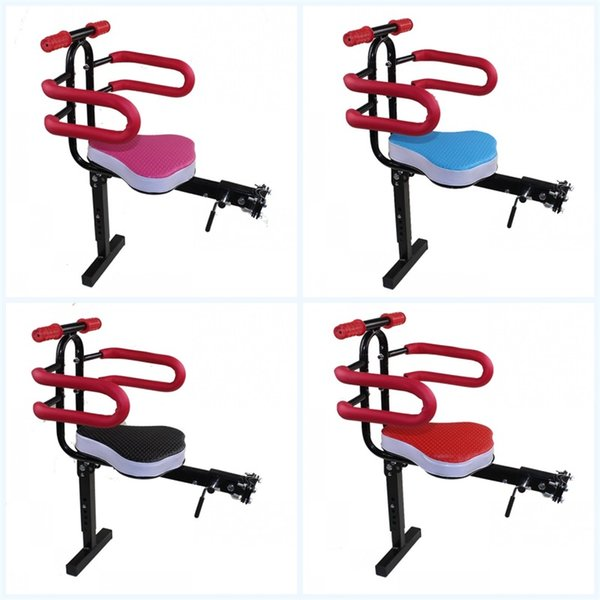 Front Mount Child Bicycle Seat Electric Quick Dismantling Saddle Safety Front Cushion Bike Parts Creative Anti Wear 31cy jj