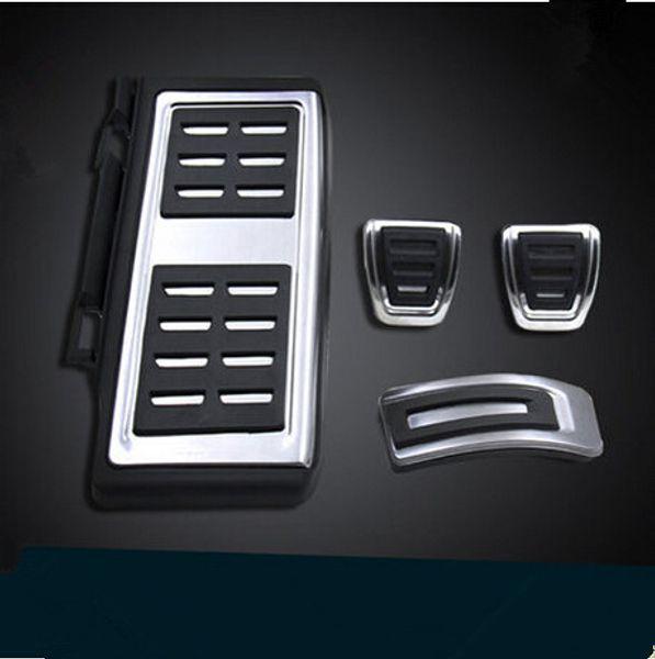 Car styling Pedane Pedali Freno Pastiglie MT Per VW GOLF 7 GTi MK7 POLO A07 Passat B8 Rapid Octavia 5E 5F A7 2014+