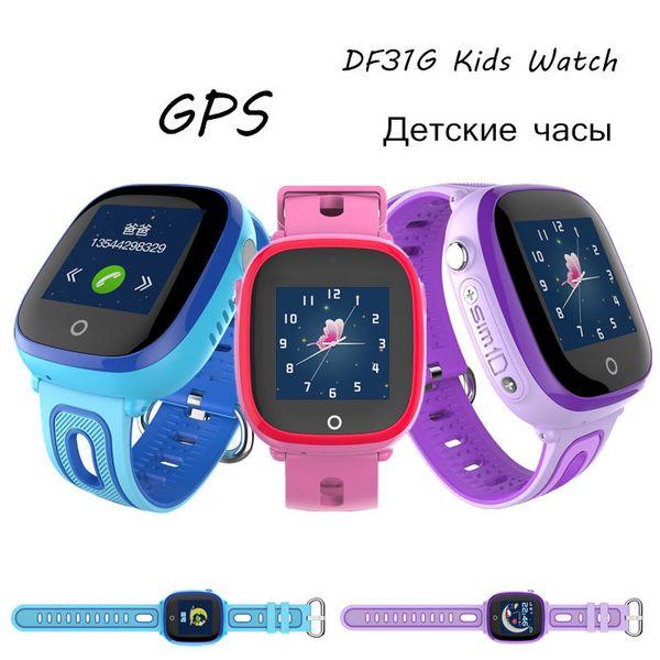 DF31G Waterproof Swim Children Smart Watch With Camera GPS Tracker Touch  Screen SeTracker App Security Smartwatch Kid SOS Phone Call Smart Wrist