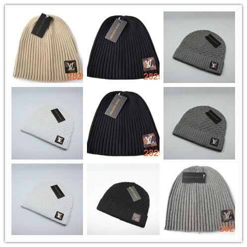 0b47c9295fc42 knitted slouchy beanie Promo Codes - New Fashion Unisex Trendy Hats Winter  Knitted Fur Poms Beanie