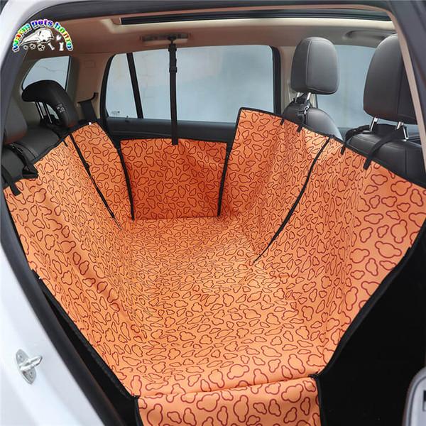 17 Colors Waterproof Oxford Cloth Dog Car Seat Covers Pet Cat Waterproof Car Cushion For Cars Trucks Hammock Convertible Pet Supplies